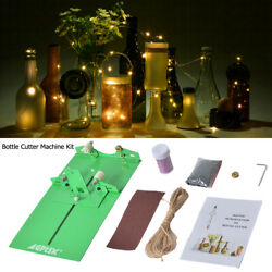 Glass Bottle Cutter Kit Machine Recycle Wine Beer Jar Cutting Diy Crafts Tool