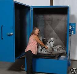 Maxjet Cabinet Parts Washer 50 Turntable With 60 Working Height 15 Hp