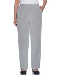 Alfred Dunner Womenand039s Eskimo Kiss Corduroy Pants - 20 Plus Size Short Length
