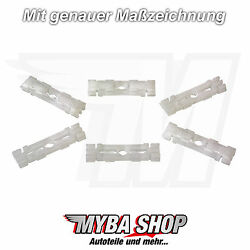 30x Roof Rails Clips Mounting Clips For Vw Skoda Felicia Pickup 191853733a