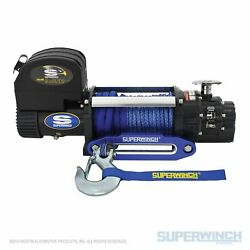 Superwinch 9500lbs 12 Vdc 3/8/in X 80ft Synthetic Rope Talon 9.5sr Winch