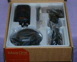 Motorola Mag One Bpr40 Uhf Portable Two Way Radio With Accessories - New In Box