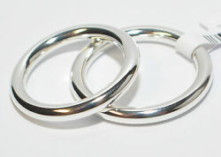 1 Pair Wedding Rings Bands From Platinum 952 - Width/high 3 Mm