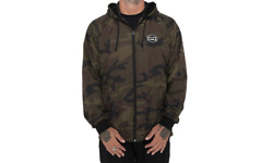 SPY OPTIC Windbreaker Jacket Bentley Patch Camo Mx Bmx Dh EXPRESS SHIPPING