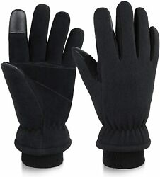 Ozero -30 ℉ Winter Gloves With Touch Screen Finger And Warm Thinsulate Lining