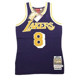 Clot X Mitchell And Ness Kobe Bryant Lakers Throwback Jersey Authentic Size Small