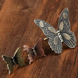 Butterfly One Hole Handles Knobs Pulls For Kitchen Cabinet Drawer Cupboard Door