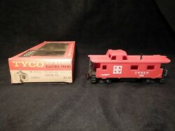Tyco Trains Ho Scale The General 1860 Series 8 Wheel Unlighted Caboose T327j