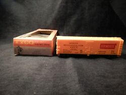 Vintage Tyco The General 1860 Series Ho Scale Refrigerator Car Armour T329c249
