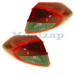 For 16-18 Tucson Outer Taillight Taillamp Rear Brake Light Tail Lamp Set Pair
