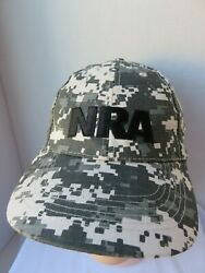 NRA Camouflage Hat Trucker Hunting Stand & Fight Embroidered Baseball Camo Cap