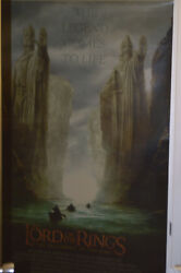 2593 Lotr Theater Poster - Fellowship Of The Ring- 47x70 Laminated-double Sided