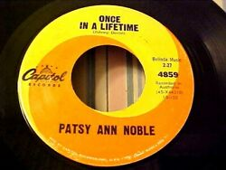 Patsy Ann Noble - Once In A Lifetime 1962 Teen Pop