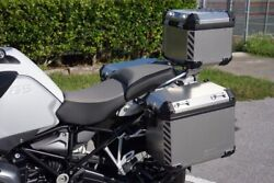 Reflective Chevron Safety Decals For Bmw Touratech Panniers - R1250 Gs Adventure
