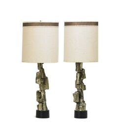 Harold Weiss And Richard Barr For Laurel Comp Midcentury Table Lamp