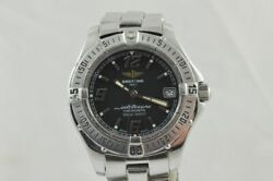 Breitling Colt Oceane Women's Watch A57350 With Steel Band Quartz 1 1/4in