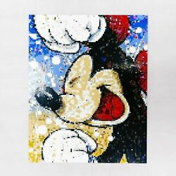 Mickey Picture 8000pcs Weandnbspturn Your Photo Into Brickpaint Hand Made Art Portrait