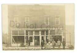 Rppc Post Office Postcards In Window East Sparta Oh Ohio Real Photo Postcard