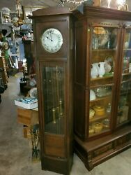 Antique German Grandfather Clock - Beautiful Early 1800and039s