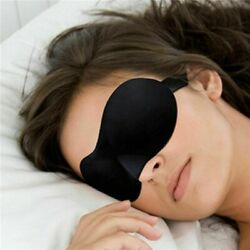3D Colorful Eye Mask Travel Soft Padded Sleep Shade Cover Rest Blindfold HOT