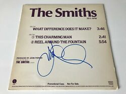 The Smiths Signed Autographed Lp Vinyl Very Rare Dj Promo Johnny Marr