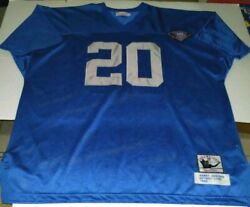 Barry Sanders Jersey 1994 Mitchell And Ness Throwback Detroit Lions Size 58 3xl