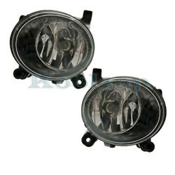 08-12 A4 And 09-17 Q5/sq5 Front Driving Fog Light Lamp Assembly W/bulb Set Pair