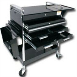 Sunex Tools Deluxe Service Cart w Locking Top 4-Drawers and Extension storage