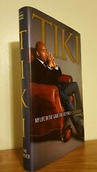Tiki My Life In The Game And Beyond By [ny Giants] Tiki Barber Signed 1st Fine