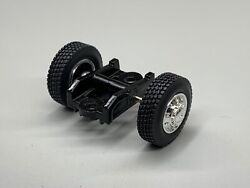 1/64 Dcp Parts Pusher Axle W/ Single Float Tires W/ Mount