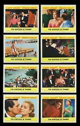To Catch A Thief ✯ Cinemasterpieces 1955 Movie Poster Lobby Card Set Hitchcock