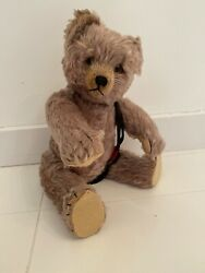 Vintage Schuco Tricky Yes No Teddy Bear 16 Mohair