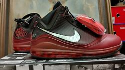 Nike Lebron 7 Vii Qs Christmas Extra Lace 8 8.5 9.5 10 Team Red Cu5133 600