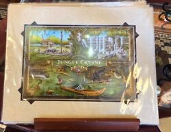 Disney Parks Disneyland Resort Adventureland Jungle Cruise Print By Craig Fraser