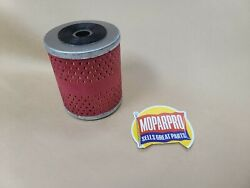 1933 1934 1935 1936 1937 Desoto Flat 6 Engine New Oil Filter And Rubber Gasket