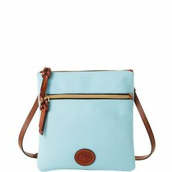 Dooney amp; Bourke Nylon Double Zip Crossbody Shoulder Bag $30.24
