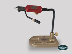 Regal Medallion Vice, Hot Rod Red Stainless Jaws And Bronze Pocket Base   Ltd Ed