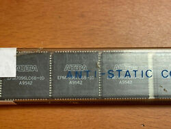 18 Pcs Epm7096lc68-10 Altera New Complex-eepld, 96-cell, 10ns Prop Delay, 68 Pin