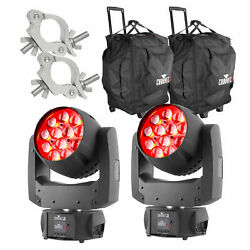 Chauvet Intimidator Wash Zoom 450 Irc - Pair With 2 Chs-50 Bags And 2 Clamps