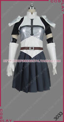 Fairy Tail Key Of The Starry Sky Erza Scarlet Outfit Dress Cosplay Costume S002