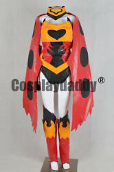 Fairy Tail Mage Erza Scarlet Flame Empress Armor Outfit Cosplay Costume F006