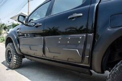 Ranger 2015 Abs Black Doors Body Clading For Double Cab Set Of4 Pc