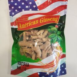 1oz-16oz American Ginseng Round Root High Quality Can Slice 美國花旗参/泡参