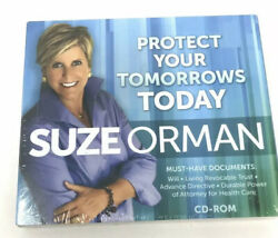 Suze Orman Protect Your Tomorrows Today Cd Rom Must-have Documents Info Sealed