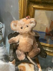 Diamond Minimo Mouse No 350 Of 600 7 Tall Jointed Mohair