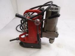 Used Milwaukee Electro Magnetic Adjustable Position Drill Press With Motor F2