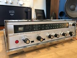 Sansui Sax-200 Vacuum Tube Stereo Integrated Amplifier As Is Read