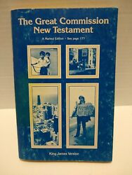The Great Commission New Testament King James Version 1983 Holman Bible Publish.