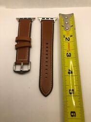 Authentic Fossil for apple Watch Full Band Genuine Leather 22mm EZ48 $20.00