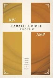 Kjv, Amplified, Parallel Bible, Large Print, Hardcover, Red Letter Edition...